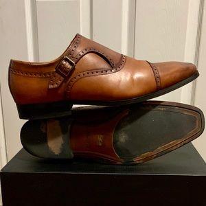 Aldo Men's US 12 Dress Shoe With side buckle